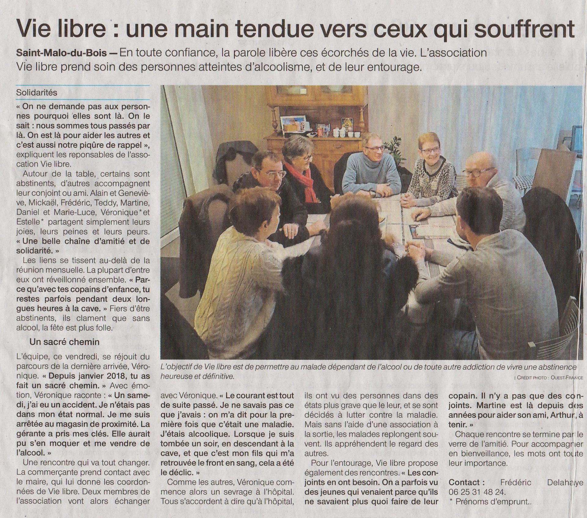 Article vie libre du 22012019