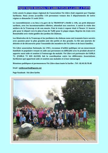Pique nique regional 2014